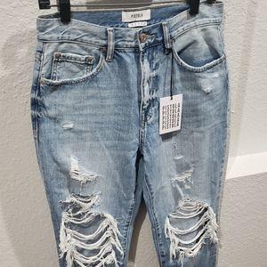 Pistola Presley High Rise Girlfriend Jeans